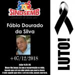 A Família Sindsemb lamenta profundamente o falecimento do servidor público Fábio Dourado da Silva. Nossos sinceros sentimentos aos familiares e amigos!