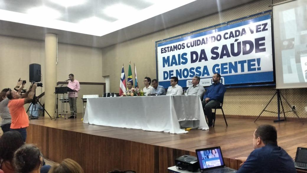 Sindsemb participa da solenidade de entrega do novo sistema informatização da saúde e Tablets para os Agentes Comunitários de Saúde