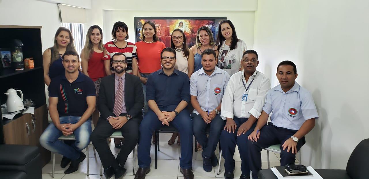 Reunião dos sindicatos Sindsemb e Sind Acs com membros da Secretaria de Saúde marca finalização da elaboração do PMAQ Barreiras