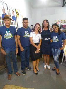 Presidente do Sindsemb, Carmélia da Mata prestigia primeiro dia de FLIB 2019