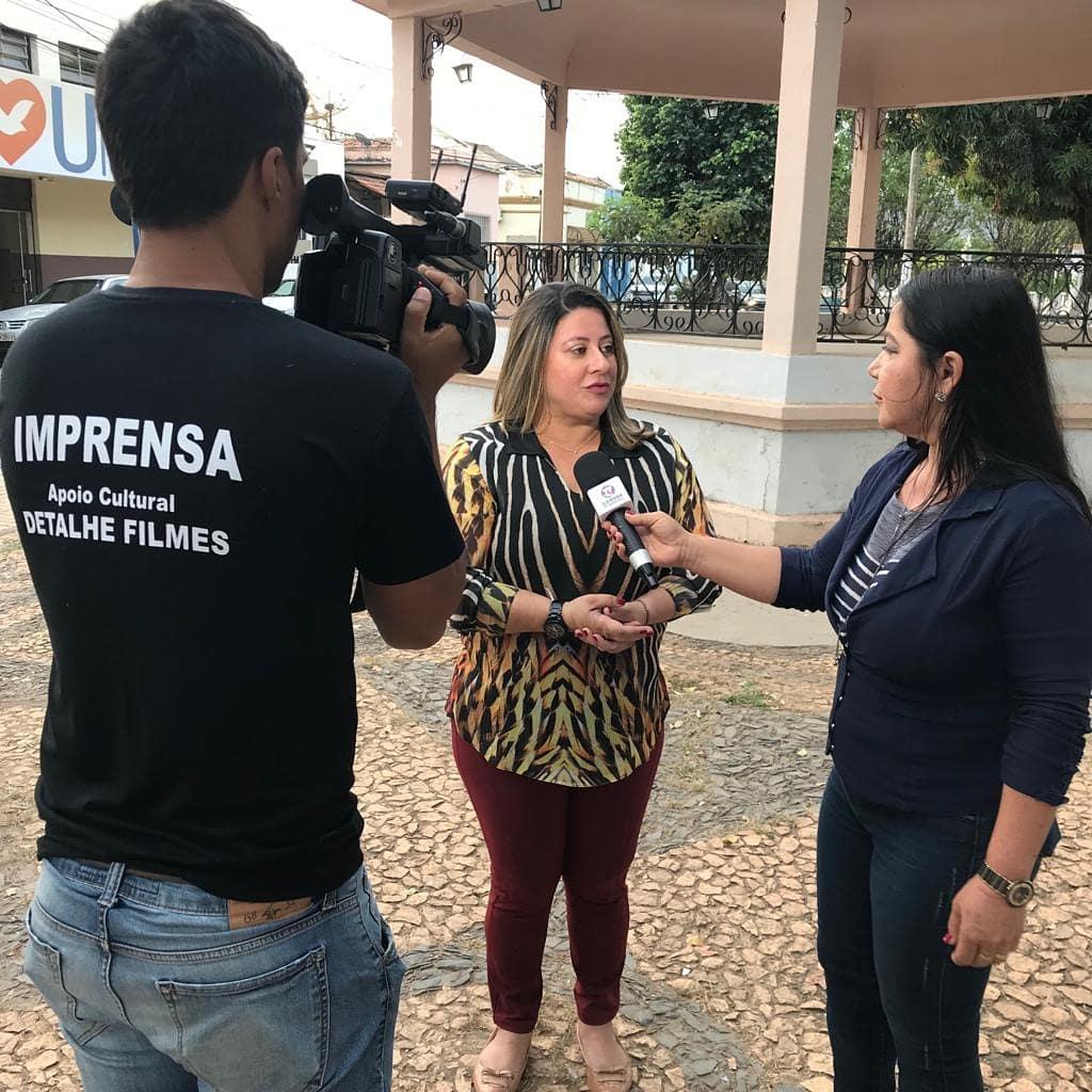 """Sexta, 07/06/2019, Comissão Eleitoral proclama eleita a chapa """"SOMOS SERVIDORES, SOMOS SINDSEMB"""". Entrevista concedida a TV Câmara de Barreiras sobre o processo eleitoral."""