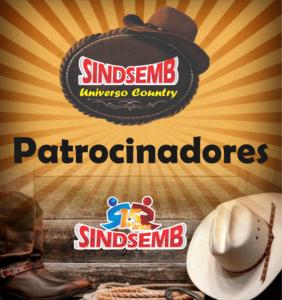 PATROCINADORES – SINDSEMB UNIVERSO COUNTRY